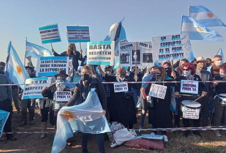 FOTO: El campo lidera protesta multisectorial contra el Gobierno en San Nicolás