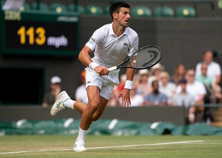 FOTO: Djokovic jugará la final de Wimbledon contra Berrettini.