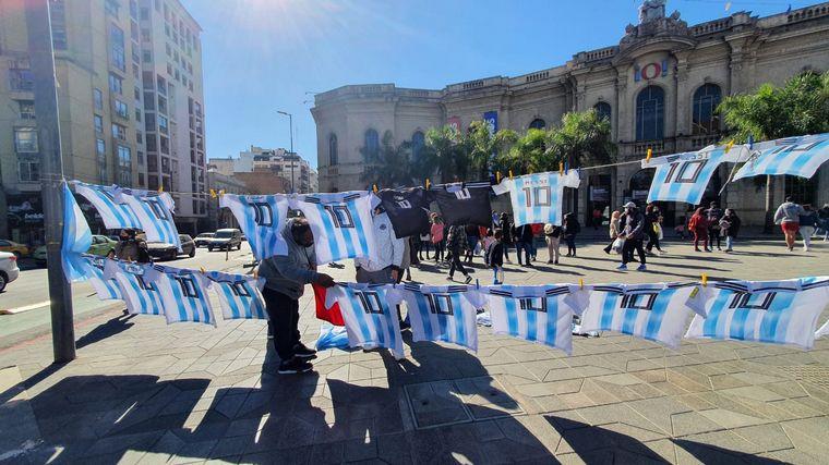 FOTO: Así se palpita la previa del partido de Argentina en Córdoba