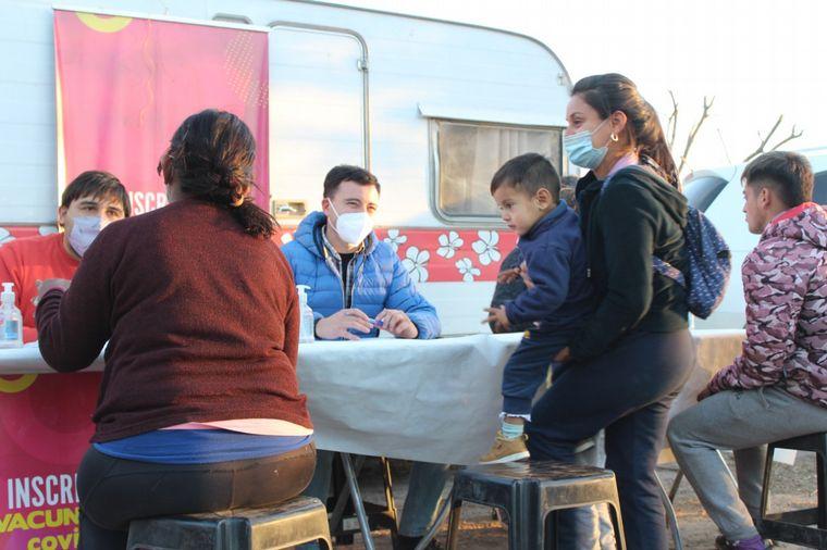 FOTO: De Loredo recorrió el norte cordobés en el marco de su campaña electoral.