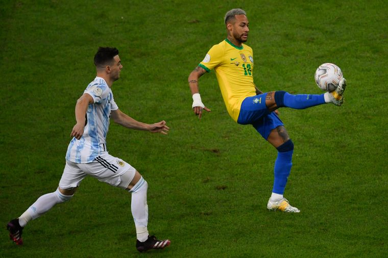 FOTO: Argentina vs Brasil