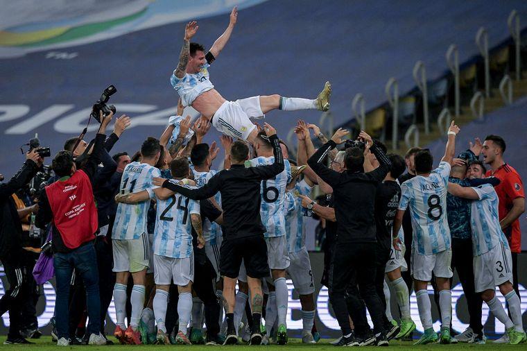FOTO: Lionel Messi logró la tan ansiada Copa América.