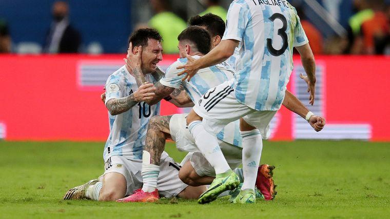 FOTO: Argentina campeón de la Copa América 2021