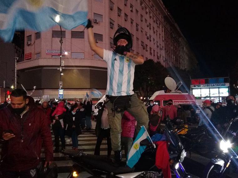 VIDEO: Festejos en ciudad de Mendoza