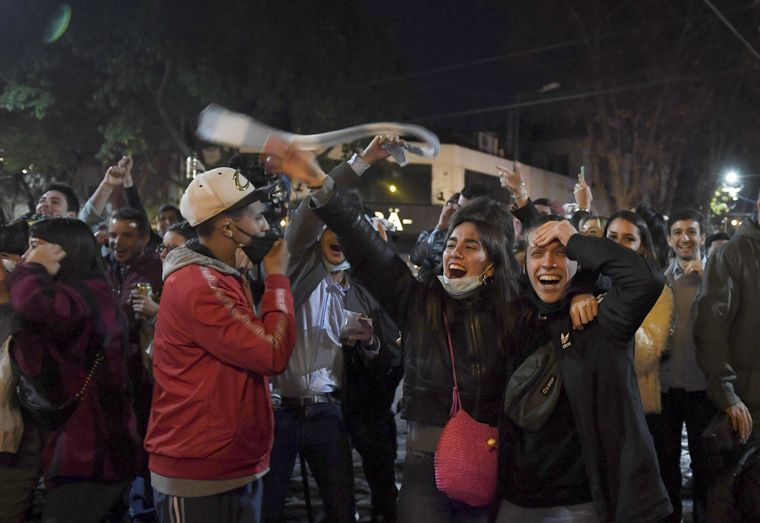 VIDEO: Argentina Campeón: festejos en Tandil