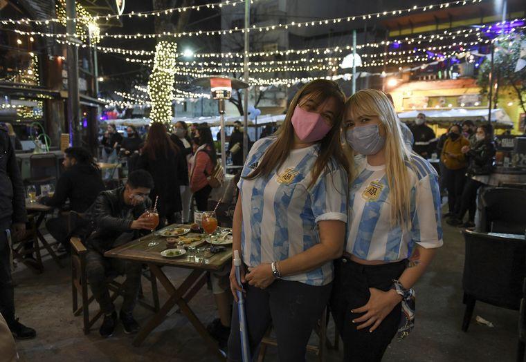 FOTO: Festejos Argentina vs Brasil