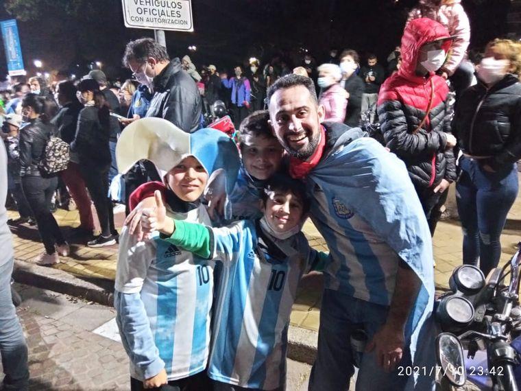FOTO: Festejos en Rosario