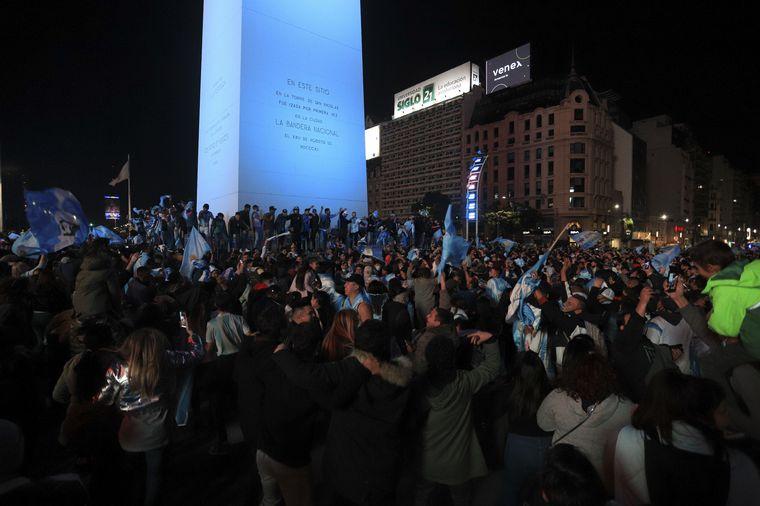 FOTO: Argentina campeón: festejos en ciudad de Córdoba