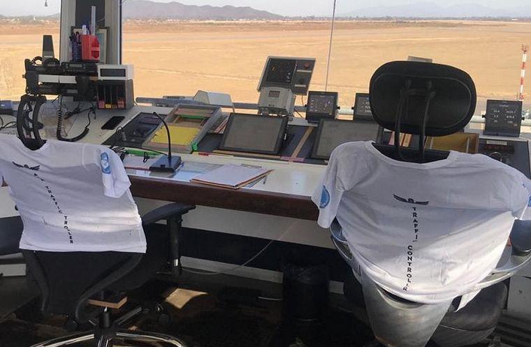 AUDIO: Un paro de controladores aéreos afecta los vuelos de todo el país