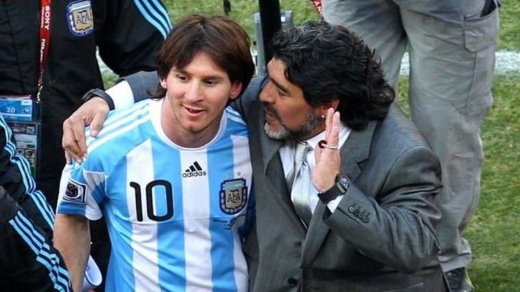 FOTO: Messi, la gran figura de la Selección argentina.
