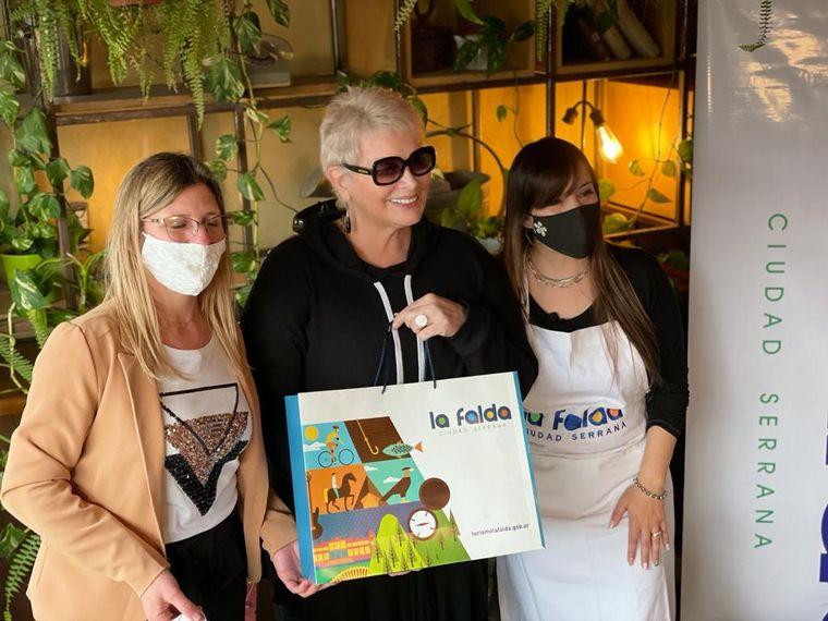 AUDIO: Carmen Barbieri y Cadena 3 prepararon sorrentinos en La Falda