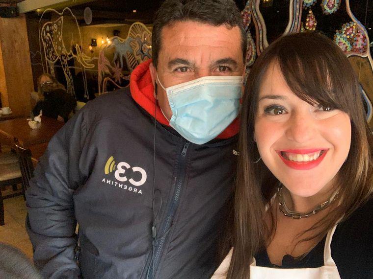 FOTO: Carmen Barbieri cocinó en La Falda junto a Cadena 3