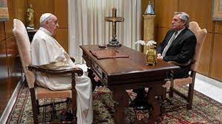 FOTO: El Papa pidió