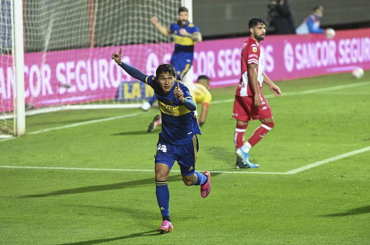 AUDIO: 1º Gol de Unión (Márquez)