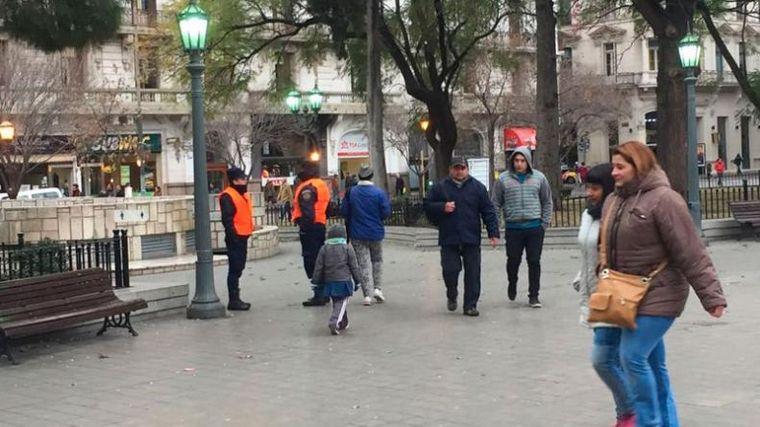 FOTO: Frío - Ola Polar - Córdoba - Invierno