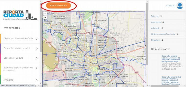 FOTO: Permite ubicar en el mapa una problemática para que sea fácil de ubicar
