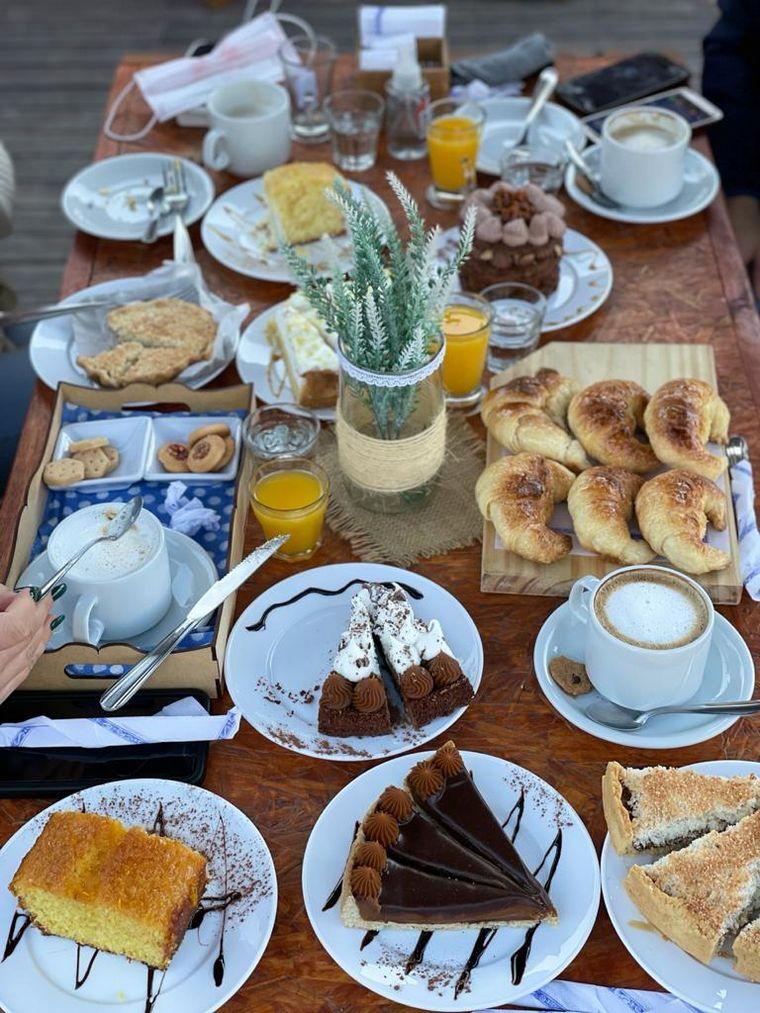 FOTO: Magui Bravi probó las delicias caseras de