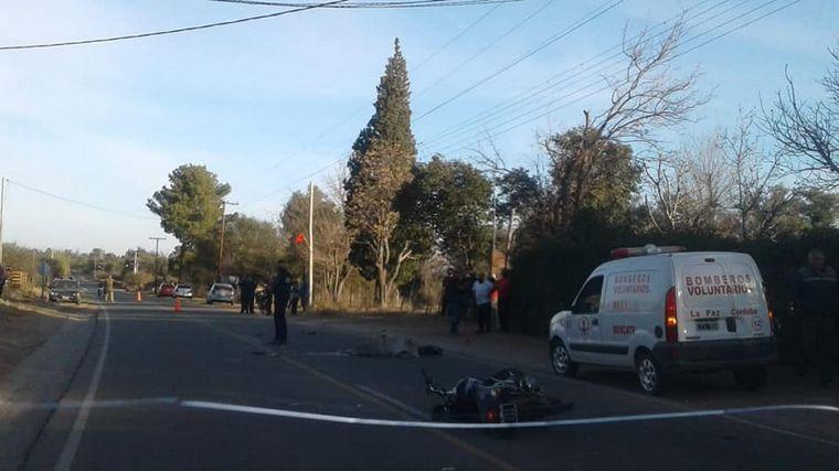 AUDIO: Choque fatal en Taslasierra: murió un joven de 29 años (Foto: Laser Merlo)