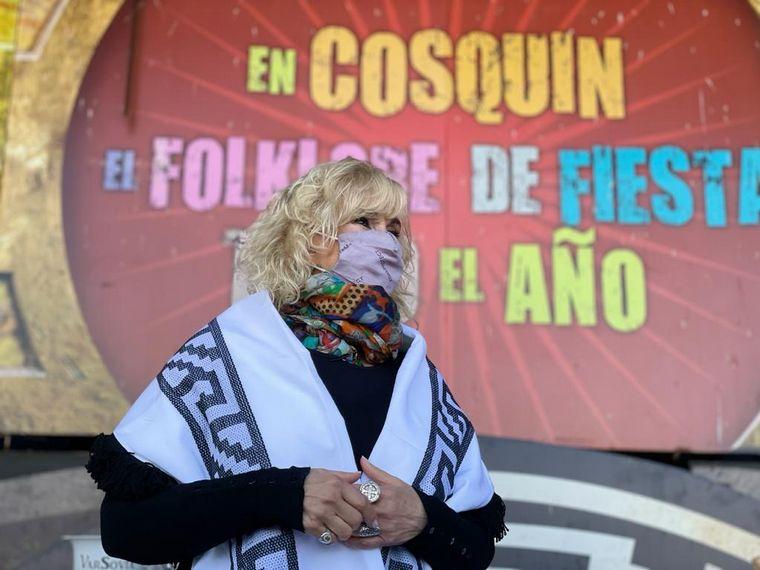 AUDIO: Georgina Barbarossa a la conquista de los sabores de Cosquín