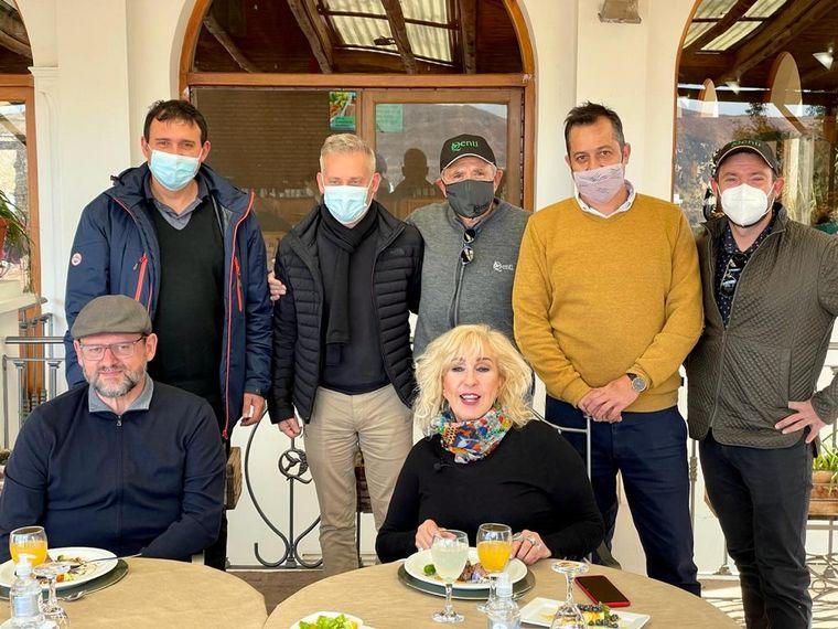 AUDIO: Georgina Barbarossa degustó un almuerzo liviano en el Qenti