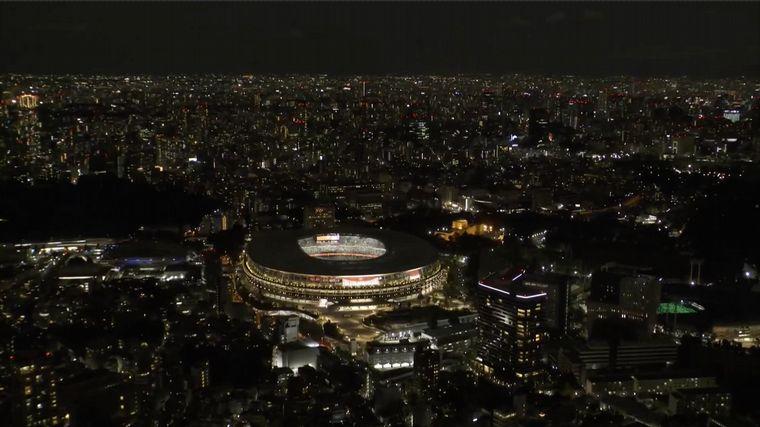 FOTO: Así fue la atípica ceremonia inaugural de Tokio 2021