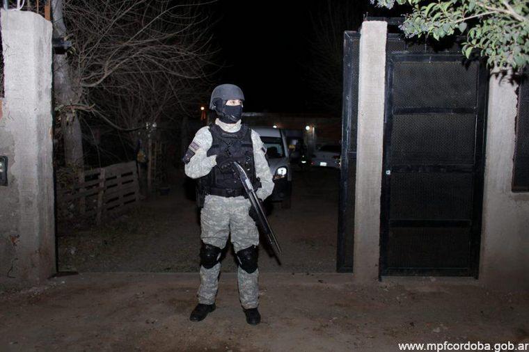 FOTO: Golpe al narcotráfico en Córdoba: más de 10 detenidos.