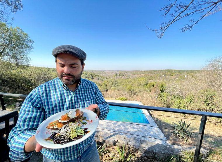 """FOTO: """"Mirá Silvina"""", un restorán de comida gourmet el Salsipuedes"""
