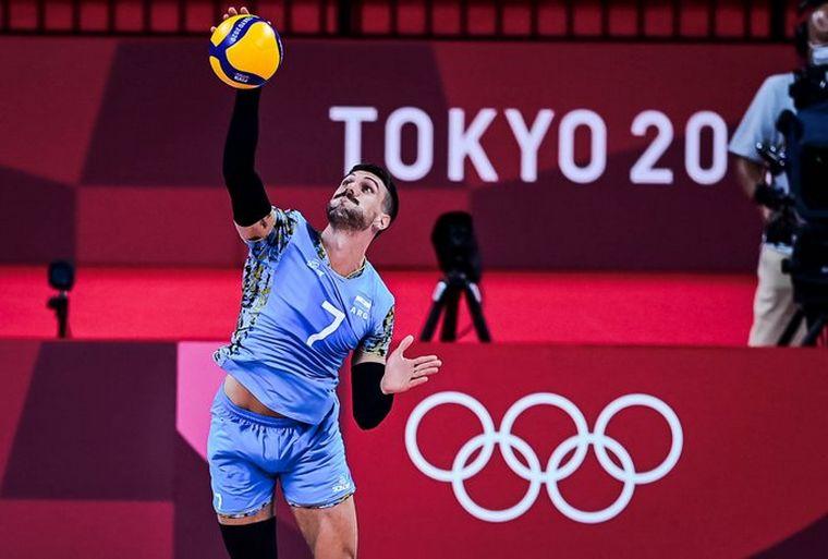 La selección masculina de vóley cayó en su debut ante Rusia - Juegos  Olímpicos Tokio 2020 - Cadena 3 Argentina