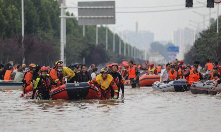 FOTO: Decenas de desaparecidos en India por las lluvias monzómicas (Foto: EuroNews).