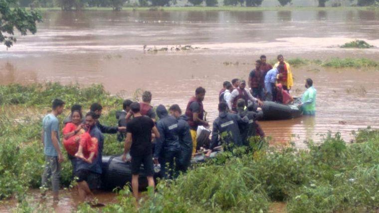 FOTO: Lluvias monzónicas dejan al menos 79 muertos en India (Foto: AP)