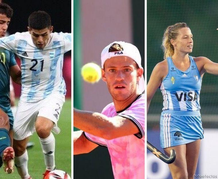 FOTO: Los Pumas debutan en los Juegos Olímpicos ante Australia.