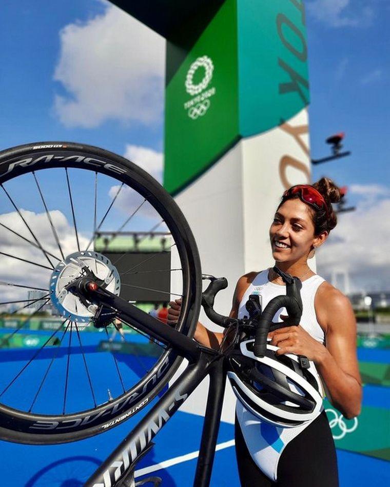 FOTO: Romina Biagioli terminó 33° con una lesión en las costillas