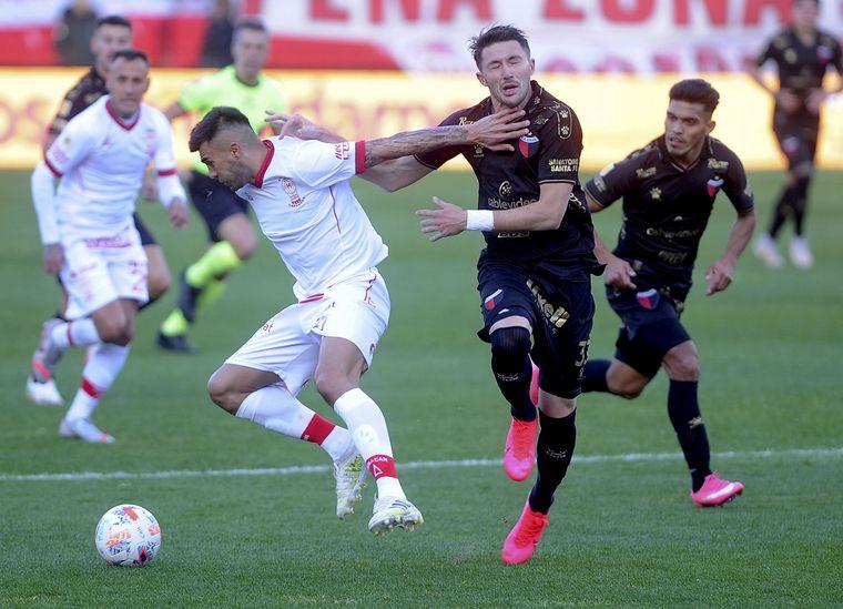 AUDIO: 1º gol Huracán de Parque Patricios (Jhonatan Candia) La Central Deportiva