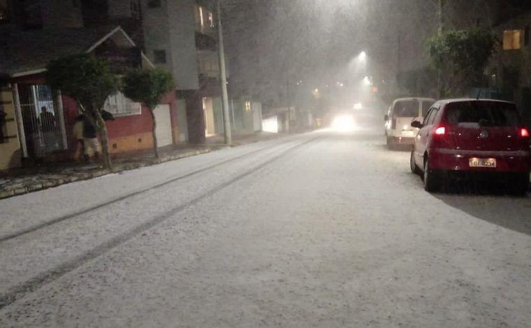 FOTO: Histórica nevada en el sur de Brasil.