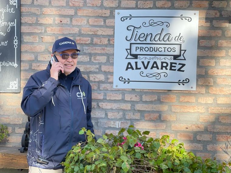 FOTO: Orlando Morales en Cruz del Eje