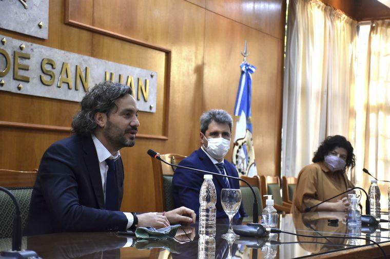 AUDIO: Vizzotti y Cafiero inauguran un hospital en San Juan