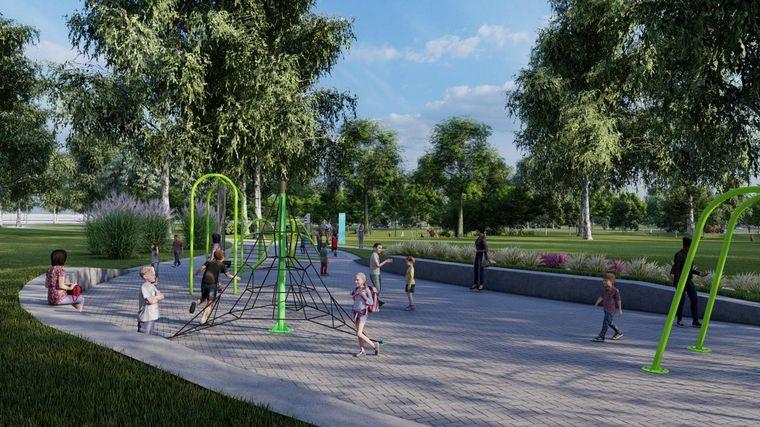 FOTO: El Parque Sarmiento tendrá un pulmón pluvial.