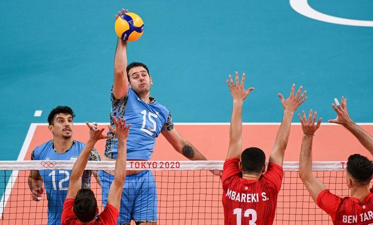 Argentina derrotó a Túnez.