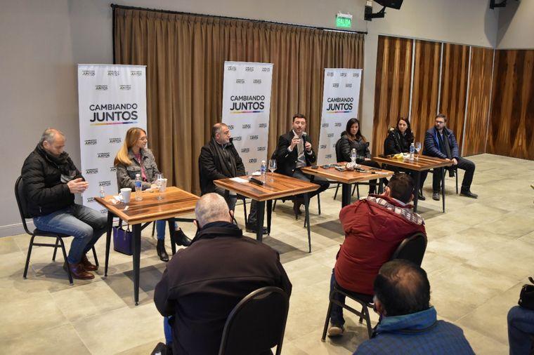 FOTO: Cambiando Juntos pasó por Río Cuarto en su presentación