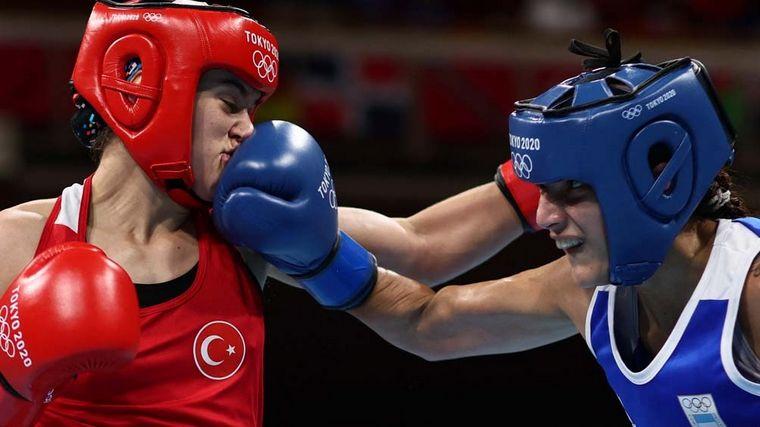 La boxeadora Dayana Sánchez, primera argentina en los JJ.OO