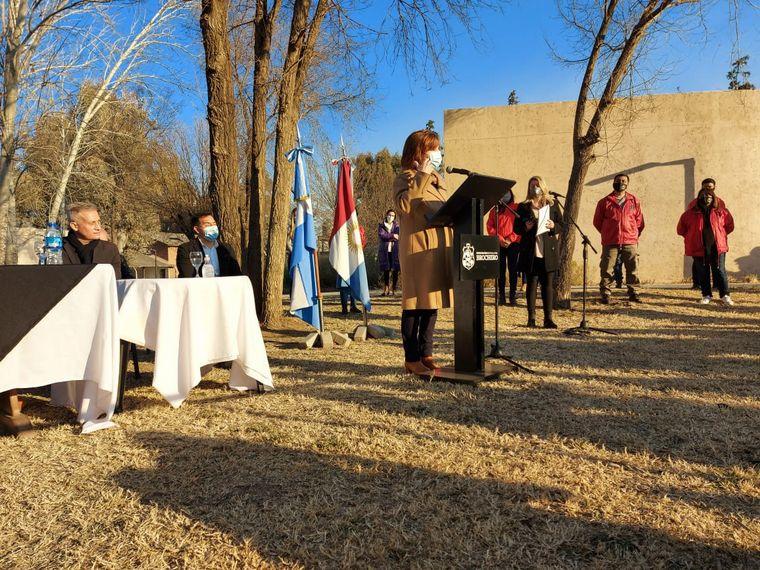 FOTO: Inauguran cinco nuevas estatuas en el Parque Brochero Santo