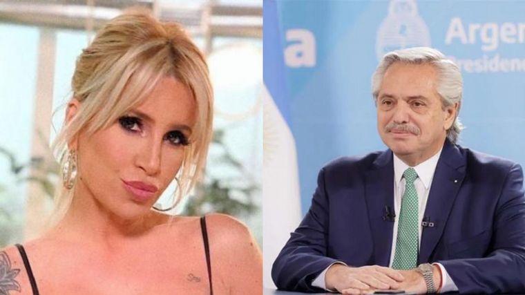 Flor Peña justificó sus visitas a Fernández en Olivos - Noticias - Cadena 3  Argentina