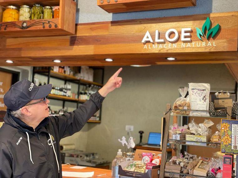 FOTO: Aloe, una huerta orgánica en Las Tapias