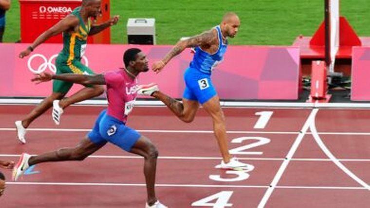 FOTO: El italiano Jacobs sucede a Bolt en el oro olímpico de 100m
