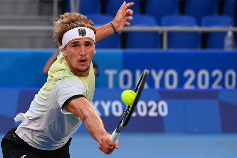 FOTO: El alemán Zverev se quedó con el oro en tenis.