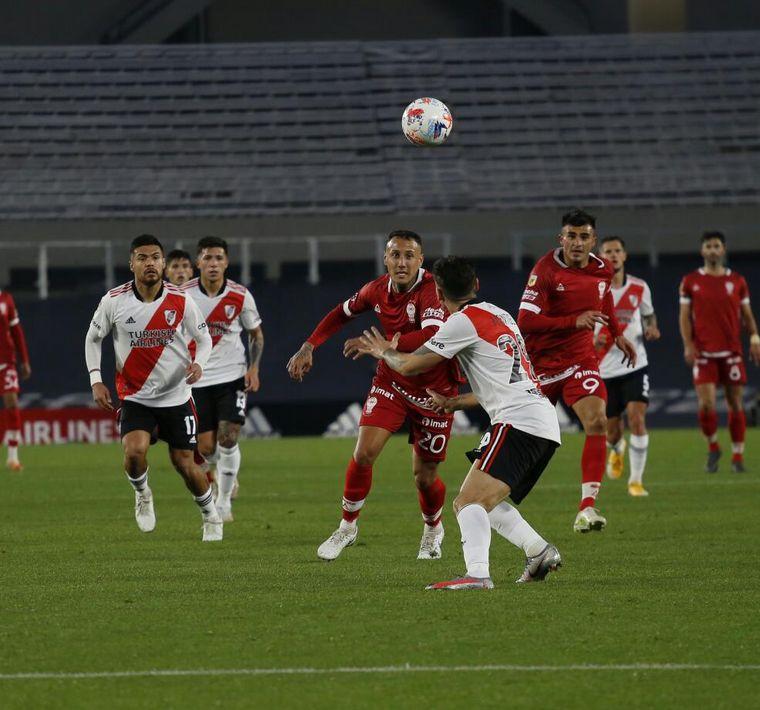FOTO: Nicolás Silva puso el 1 a 0 frente a River