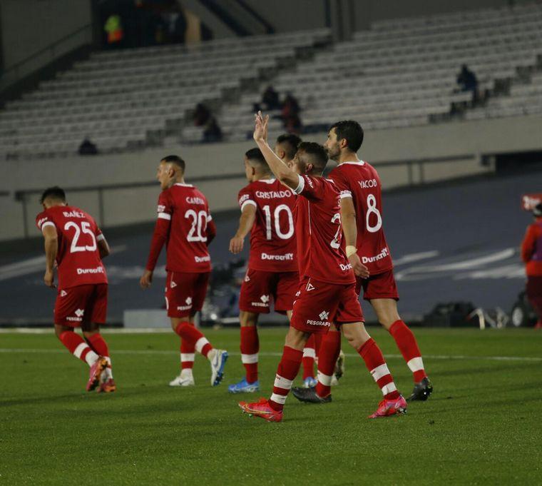 AUDIO: Nicolás Silva puso el 1 a 0 frente a River