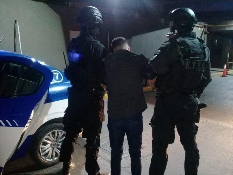 FOTO: Leandro Luna se había fugado el 16 de junio en Tribunales II.