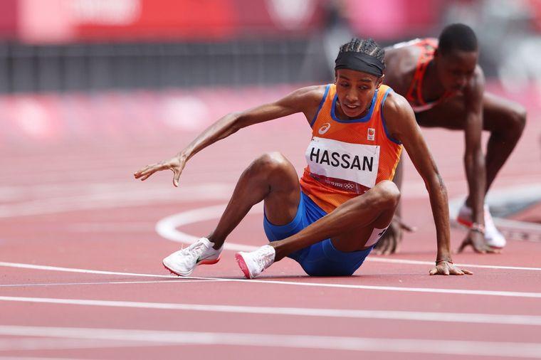FOTO: La increíble remontada de Sifan Hassan en los 1.500 metros