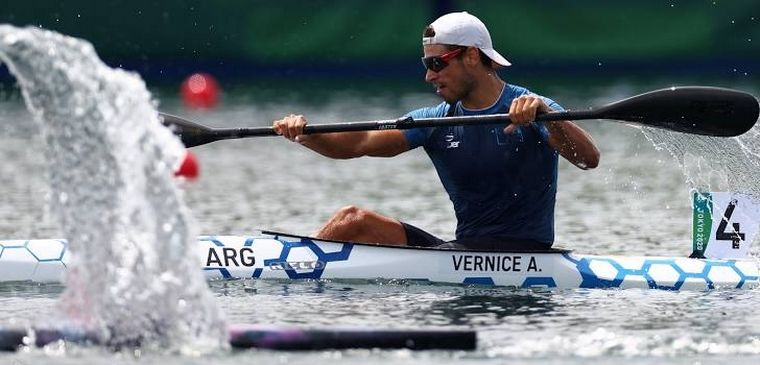 Canotaje: Agustín Vernice se clasificó directo a semifinales - Juegos  Olímpicos Tokio 2020 - Cadena 3 Argentina